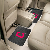 "Cleveland Indians Backseat Utility Mats 2 Pack 14""x17"""