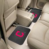 "Cleveland Indians Backseat Utility Mats 2 Pack 14""x17"""