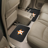 "Houston Astros Backseat Utility Mats 2 Pack 14""x17"""