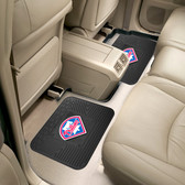 "Philadelphia Phillies Backseat Utility Mats 2 Pack 14""x17"""