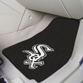 "Chicago White Sox 2-piece Carpeted Car Mats 17""x27"""