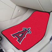 "Los Angeles Angels 2-piece Carpeted Car Mats 17""x27"""