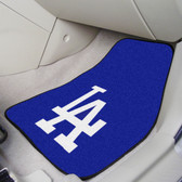 "Los Angeles Dodgers 2-piece Carpeted Car Mats 17""x27"""