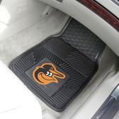 "Baltimore Orioles Heavy Duty 2-Piece Vinyl Car Mats 17""x27"""