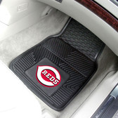 "Cincinnati Reds Heavy Duty 2-Piece Vinyl Car Mats 17""x27"""
