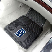 "Detroit Tigers Heavy Duty 2-Piece Vinyl Car Mats 17""x27"""