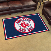 Boston Red Sox Rug 4'x6'