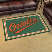 Baltimore Orioles Rug 4'x6'