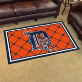Detroit Tigers Rug 4'x6'
