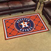 Houston Astros Rug 4'x6'