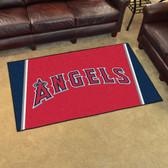 Los Angeles Angels Rug 4'x6'