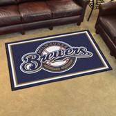 Milwaukee Brewers Rug 4'x6'