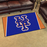 New York Mets Rug 4'x6'
