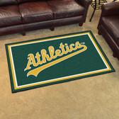 Oakland Athletics Rug 4'x6'