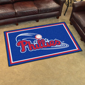 Philadelphia Phillies Rug 4'x6'