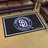 San Diego Padres Rug 4'x6'