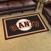 San Francisco Giants Rug 4'x6'
