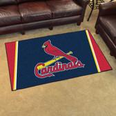 St. Louis Cardinals Rug 4'x6'