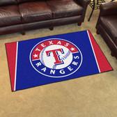 Texas Rangers Rug 4'x6'