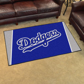 Los Angeles Dodgers Rug 4'x6'