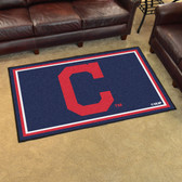 "Cleveland Indians ""Block-C"" Rug 4'x6'"