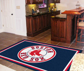 Boston Red Sox Rug 5'x8'
