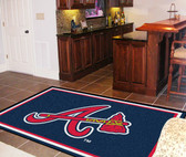 Atlanta Braves Rug 5'x8'