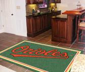 Baltimore Orioles Rug 5'x8'