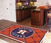 Houston Astros Rug 5'x8'