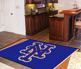 New York Mets Rug 5'x8'
