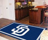 San Diego Padres Rug 5'x8'