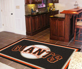 San Francisco Giants Rug 5'x8'