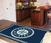 Seattle Mariners Rug 5'x8'