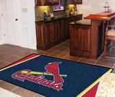 St. Louis Cardinals Rug 5'x8'