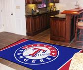 Texas Rangers Rug 5'x8'