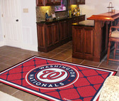 Washington Nationals Rug 5'x8'