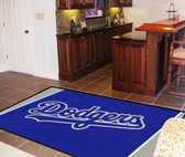 Los Angeles Dodgers Rug 5'x8'