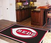Cincinnati Reds Rug 5'x8'