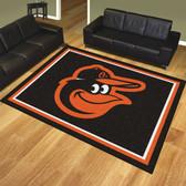 Baltimore Orioles 8'x10' Rug