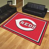 Cincinnati Reds 8'x10' Rug