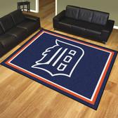 Detroit Tigers 8'x10' Rug