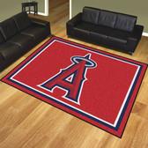 Los Angeles Angels 8'x10' Rug