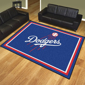 Los Angeles Dodgers 8'x10' Rug