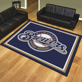 Milwaukee Brewers 8'x10' Rug