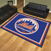 New York Mets 8'x10' Rug