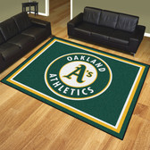 Oakland Athletics 8'x10' Rug