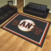 San Francisco Giants 8'x10' Rug