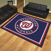 Washington Nationals 8'x10' Rug