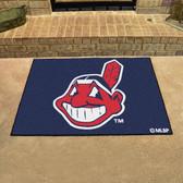 """Cleveland Indians All-Star Mat 33.75""""x42.5"""""""
