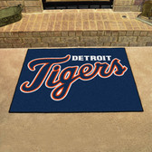 "Detroit Tigers All-Star Mat 33.75""x42.5"""